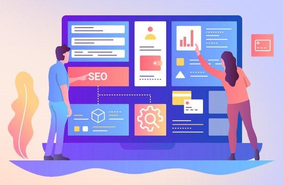 خدمات طراحی سایت و سئو